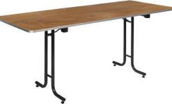 Puidust kandilised lauad